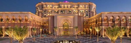 Emirates Palace Abu Dhabi © Kempinski Hotels